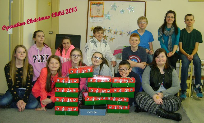 Operation Christmas Child 2015