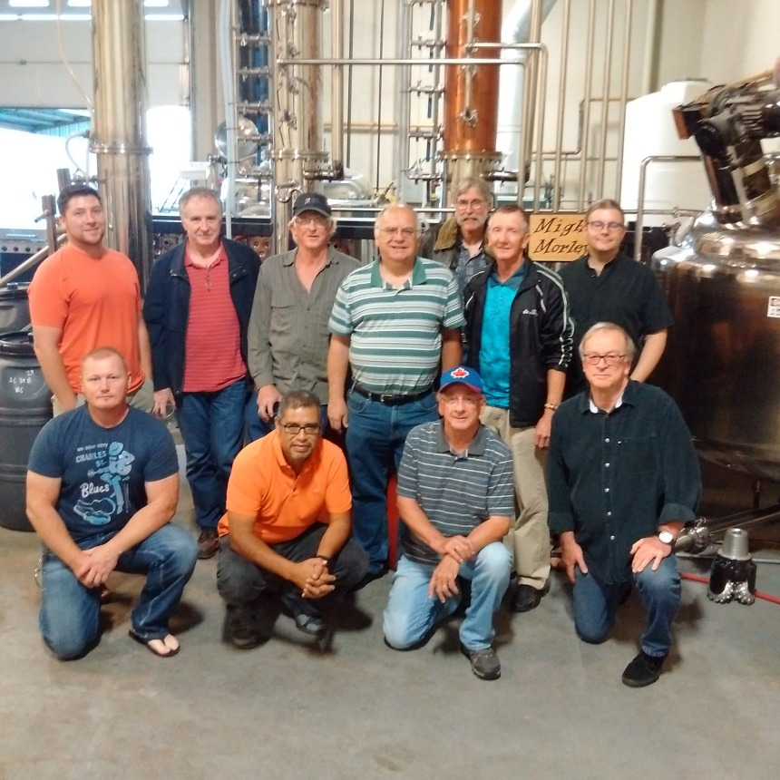 fall distillery tour